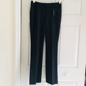 Express Editor pants low rise straight leg striped